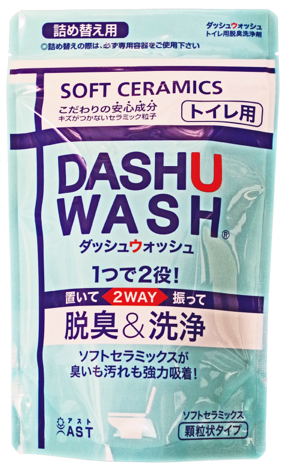 ダッシュウォッシュトイレ用脱臭洗浄剤詰め替え用
